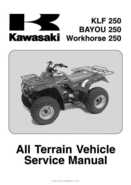 2003 Kawasaki KLF250 Service Manual