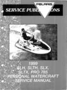 1999 Polaris SLH, SLTH, SLX, SLTX, PRO785 Factory Service Manual